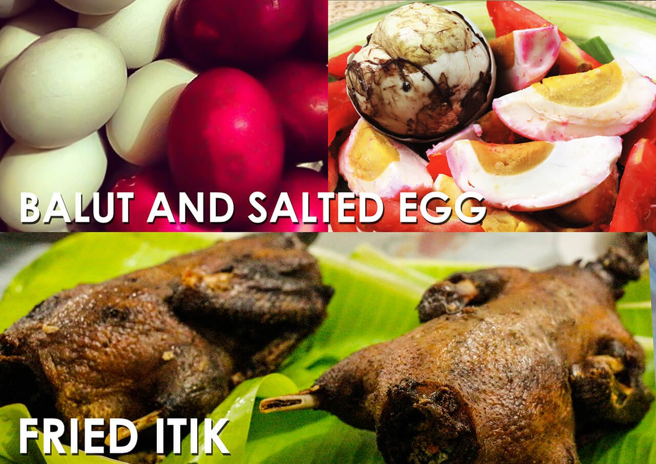 BALUT AND SALTED EGG
