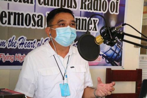 Launching ng FLY RADIO 98FM - The Official Campus Radio ng Hermosa Annex