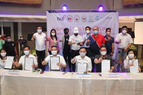 PAGLAGDA SA DEED OF DONATION AT TURN OVER NG PHILIPPINE SPORTS COMMISION
