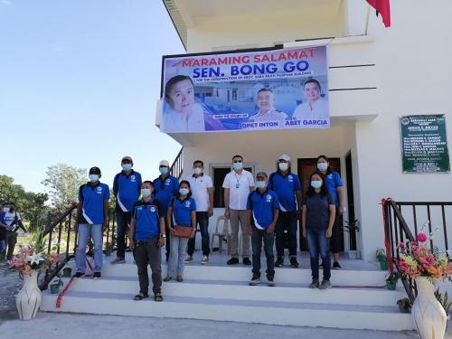 Pasinaya sa Bagong Barangay Hall at Multi-Purpose Building ng Barangay Saba, Hermosa, Bataan